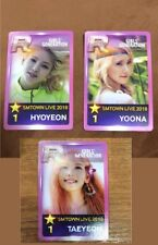 Girls' Generation Photocard set lot smtown Osaka SNSD Taeyeon Yoona Hyoyeon