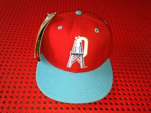 Vintage New Era Houston Oilers 5950 Fitted size 6 5/8 NWT NFL