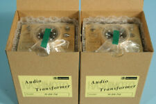 A pair of Hashimoto Single-Ended Output Transformers H-20-7U for 45 VT52 6V6