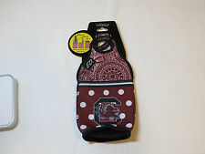 South Carolina Gamecocks Woozie for beer bottles cans koozie coozie football