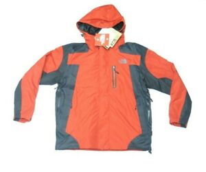 The North Face Mens Jacket 2 in 1 Fleece Summit Series XCR Gore-Tex Red Size M