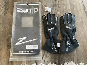 ZAMP Gloves ZR-50 Grey Lrg Multi-Layer SFI3.3/5 RG10015L