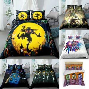 The Legend of Zelda Duvet Cover Comforter Cover Pillowcases Bedding Set 3PCS