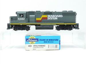 HO Scale Athearn 4604 SBD Seaboard System GP38-2 Diesel Loco #6382 Bad Drive