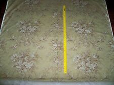 Kravet Laura Ashley French Country Shabby Floral Bouquets Toile Fabric 10 Yards