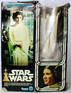 "Star Wars Vintage Boxed 12"" Princess Leia Organa Action Figure C-5 w/ C-1 Box"