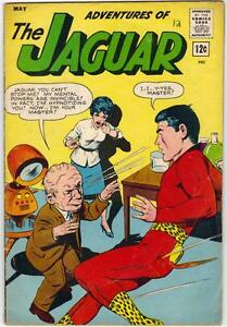 ADVENTURES OF THE JAGUAR #12 - MAY 1963 - VG (4.0)