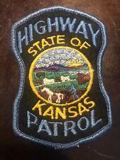 Kansas State Highway Patrol Police Shoulder Patch