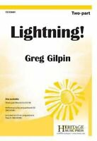 Lightning! by Greg Gilpin 9781429106511 | Brand New | Free UK Shipping