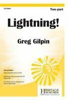 Lightning! by Greg Gilpin 9781429106511 | Brand New | Free UK Shipping