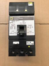Square D KA36250, 250 Amp 600 Volt I Line Circuit Breaker, One Year Warranty