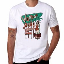Voodoo Cove Diner Funny Men's Ringer T-shirts Cotton Short Sleeve Summer Tee Top