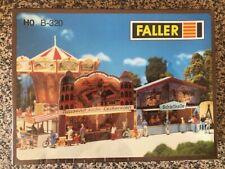 Faller B-320 Carnival Booths HO Gauge Model Kit - BRAND NEW and sealed