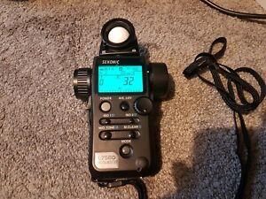 Sekonic L-758D Digital Light Meter with Case Japan Used Digital Master
