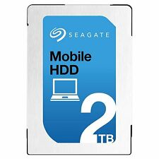 Seagate 2TB Laptop HDD SATA 6Gb/s 128MB Cache 2.5-Inch Internal Hard Drive