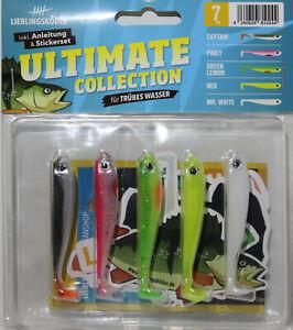 Lieblingsköder Ultimate Collection Gummifische (trübes Wasser)