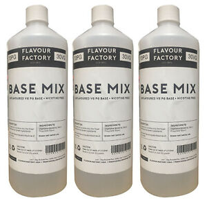 PG VG Mix 30/70 50/50 70/30 Premixed Base DIY Liquid UK Supplied