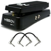 Mission Engineering SP-1 Switching Expression Pedal Wah Vibrato Effects + Cables