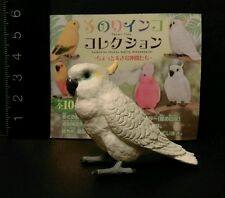 Shine (Like Kaiyodo) Sulphur Crested Cockatoo Cockatiel Parrot Bird Figure C