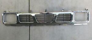 1993-1997 NISSAN D21 Hardbody Pickup Truck OEM Chrome Front Grill