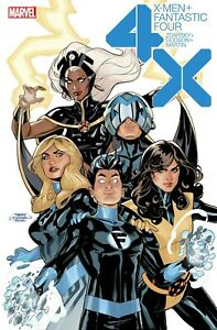 """X-Men/Fantastic Four #1 24"""" x 36"""" Poster by Terry Dodson NEW ROLLED Marvel Storm"""