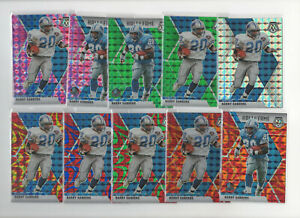 19 count lot 2020 mosaic Barry Sanders Color Prizms Silver, Pink, Green, Blue