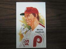 Steve Carlton Perez Steele Postcard Philadelphia Phillies