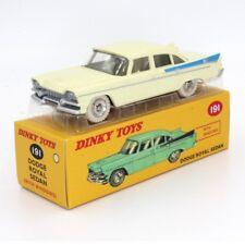 Atlas Dinky Toys-Atlas Dinky Toys, 191, Dodge Royal Sedan amarillo-crema, 1/43