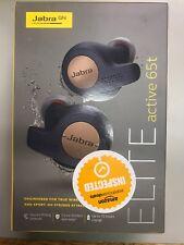 Jabra Elite Active 65t Copper Blue True Wireless Sport Earbuds NEW