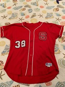 NC State Baseball Jersey, #38 Eason, Used but Good Condition