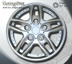"""Single 1pc Qty 1 Wheel Cover Rim Skin Cover 15"""" Inch, Style 515 15 Inches Hubcap"""