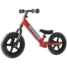 "Strider 12"" Classic Balance Bike Red"