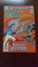 Brave and the Bold (1955 series) #195 NM D.C. Comics Horror Batman