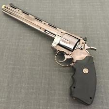 Large Metal Pistol Gun Lighter Colt Viper Big Revolver 357
