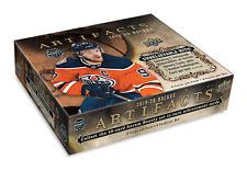 2019-20 Upper Deck Artifacts Hockey pasatiempo caja nuevo/Sellado + Tarjeta Firmada Jugador de la NHL