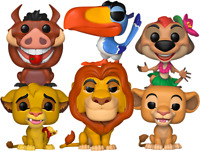 Lion King Bundle SET OF 6 Funko Pop Vinyls New in Boxes In Hand