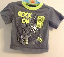 Rock On with guitar 2T boys Shirt