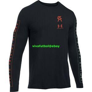 NEW Under Armour UA Mens Saul Canelo Alvarez Familia Long Sleeve T-Shirt Tee L