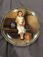 "Norman Rockwell collector plate ""A Young Girl's Dream"" 1985, Knowles w/ Coa"