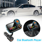 Car Bluetooth 5.0 Wireless FM Transmitter Adapter 2USB PD Charger AUX Hands-Free