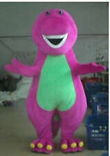 Barney Adult Mascot Costume fancy dress for advertising / Party Cosplay New