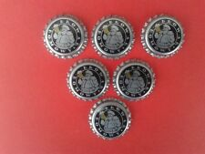 Poland Bottle Caps to beer Brewery Home - 6 pcs.