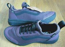 Vans Mens UltraRange AC Catawba Grape Black Suede Mesh Skate shoes Size 8.5 NWT