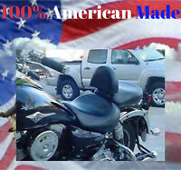 Kawasaki 1600 Nomad or Vulcan Classic Motorcycle Driver Backrest Quick Releas
