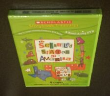 The Scrambled States of America and More Stories by Laurie Keller (DVD) kids NEW