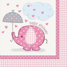 BABY SHOWER NAPKINS - Party Serviettes,Tableware,Pink,Blue,Unisex,boy,girl