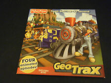 Fisher-Price Team GeoTrax-All Aboard - 4 Animated Episodes (DVD, 2009)