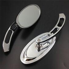 Mirrors Fit all Yamaha Cruiser Bikes models Royal Star/Stratoliner Chrome