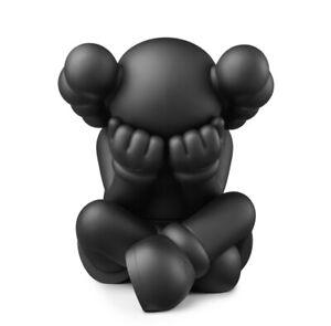 KAWS Separated Vinyl Figure Black Brown Grey