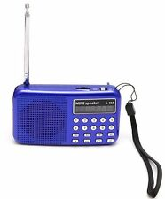 Little Blue Radio preloaded with 10,000+ old time radio OTR shows Time Traveler